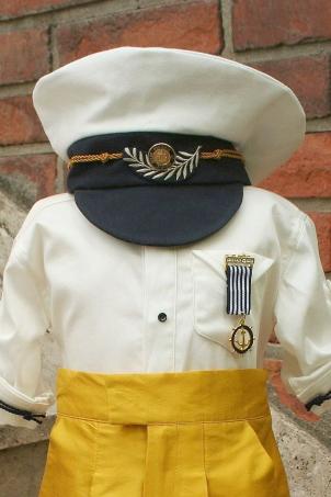 Little Captain- baby boy captain hat