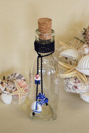 Baby Boat Trousseau - Christening Chrism Oil Bottle