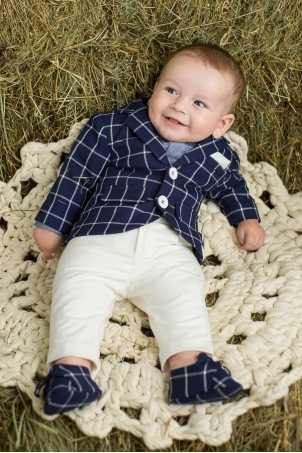 Daddy's Boy - chic suit for baby boys and toddlers
