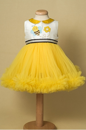 Maia Little Bee hand painted dress