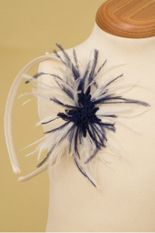 Blue Sapphire - Girl Headband