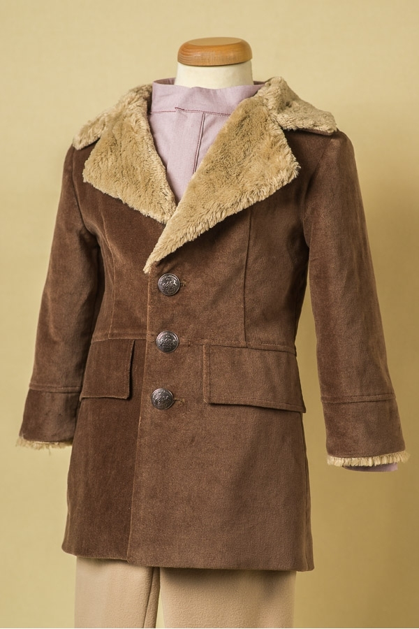 Teddy Bear Boy Coat