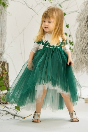 Jade Forest Fay - Princess Tutu Dress