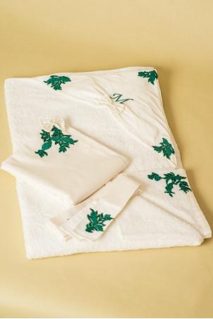 Jade Forest Trousseau - Christening Baby Set