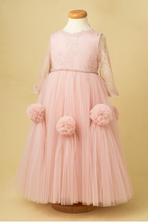 Sweet Dream - Princess Silk lace Dress