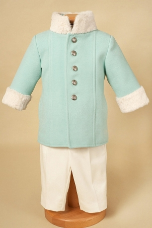 Arctic Shade - Suit with fur details for boys