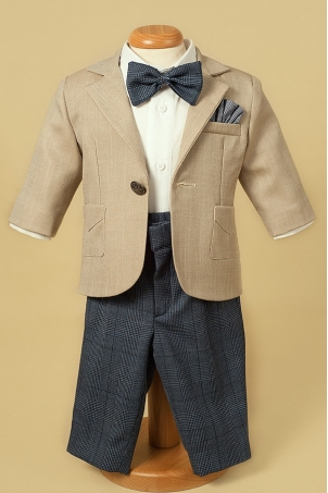 Travel In Style -Special occasion boy suit