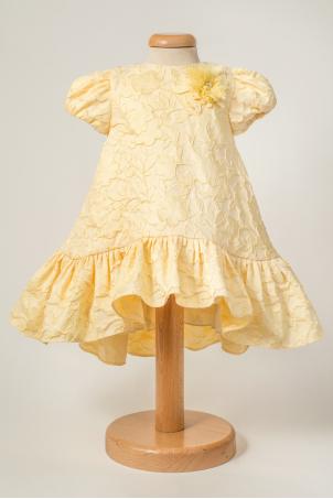 Calista - Smart Casual Brocade Dress For Girls