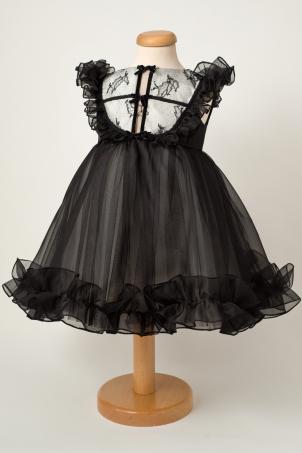 Night's Dream - Elegant silk organza dress