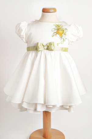 Tinkerbell - Hand painted dress with handcrafted wings