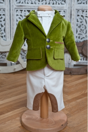 Berlioz Green Boy Suit