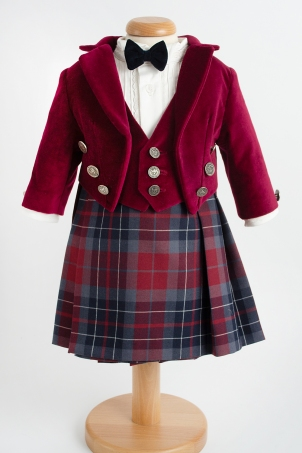 James of Scotland - With skirt - Special party costume for  boys