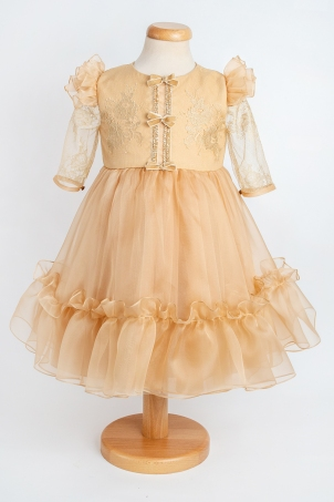 Cassiopeia - Silk organza special occasion dress for girls