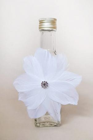 Flower Dove Trousseau - Christening Chrism Oil Bottle