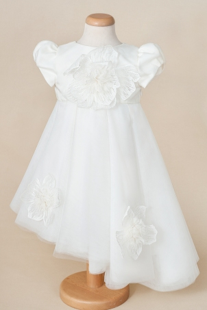 Elyse - Asymmetric train tutu dress for girls