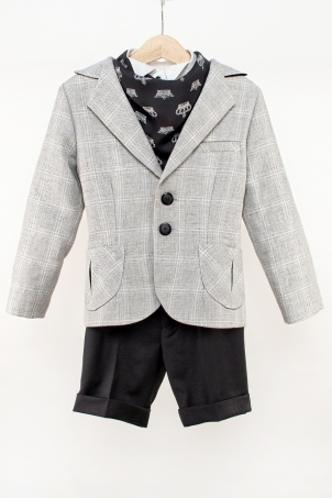 """Little brother"" - special occasion suit for little boys and babies"
