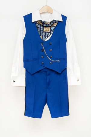 """Gentleman in Blue"" - special occasion suit for little boys and babies"