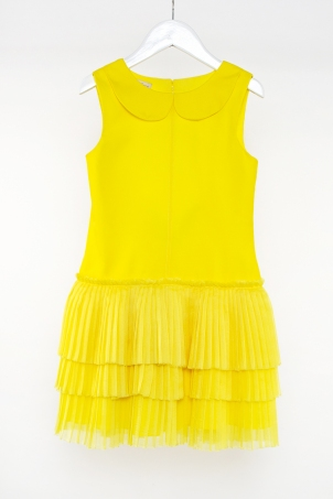 """Sunshine"" - bright summer dress for girls"