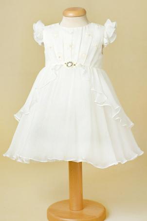 Ivory Aileen - Silk Veil Dress