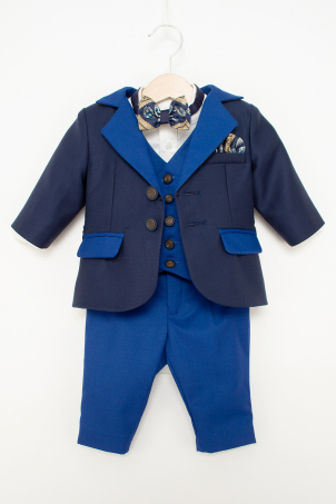 Jasper - Blue elegant suit for boys