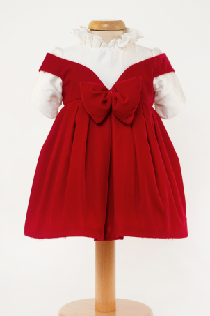 Helena - Velvet elegant dress for girls