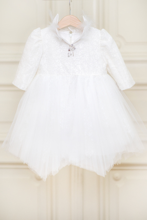 Snowflake - Delicate tutu-style dress with bright flakes