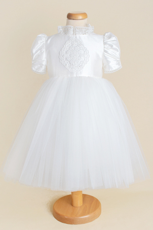 White Symphony - Tutu dress with train