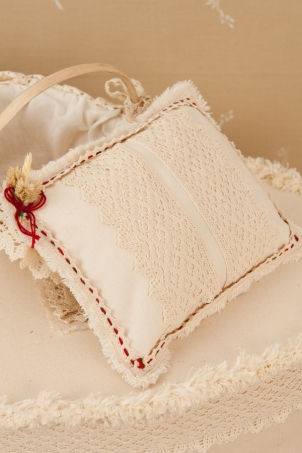 Traditional Trousseau - Witness Pins Cushion