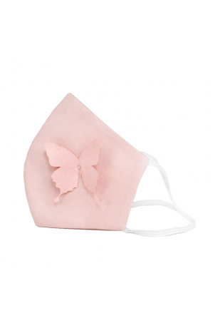 Protective Face Mask Reusable, 100% Cotton, Kids and Adults, BUTTERFLY