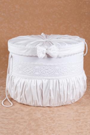 Macrame Trousseau - Christening Trousseau Box