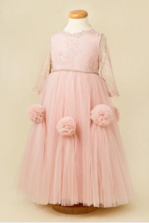 Sweet Dream - Princess Silk lace Dress