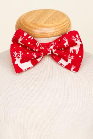 Reindeers - Christmas reindeer bow tie for kids