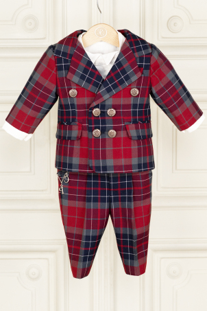 Andrew - Checkered special occasion boy suit