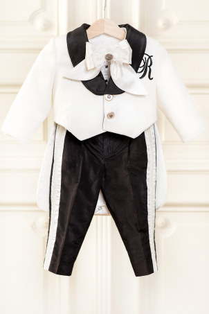Charles - Elegant suit for boys made of velvet and silk