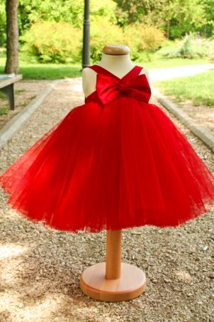 Happy - Bow Tutu Dress