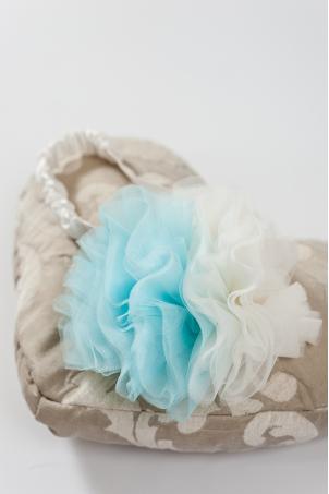 1001 Ruffles Pompom Headband