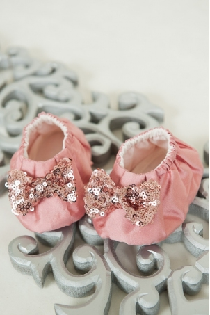 Candy Baby Booties for girls