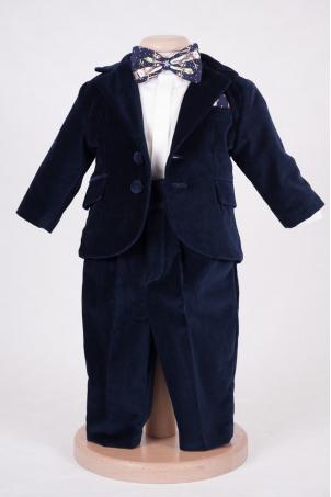 Nicolas - Velvet Suit for little Boys