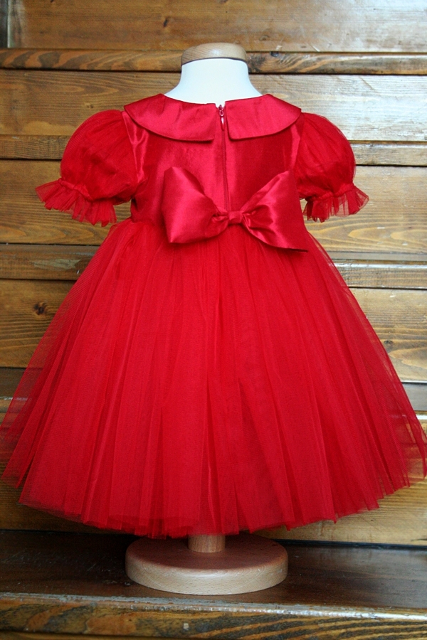 Little Girl Dress Quot Happy Puff Sleeves Quot