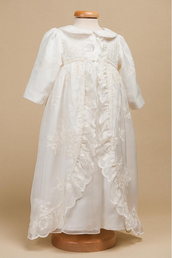 Evelyne Catholic Christening Gown For Girls