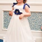 Daria intr-o rochita facuta pe comanda special pentru ea, marca Petite Coco.