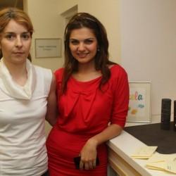 Gabi Alexandrescu and Malvina Cservenschi