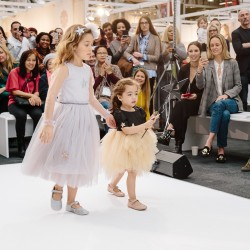 Sophia on the catwalk