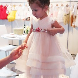 Handcrafted dress for kids Amani