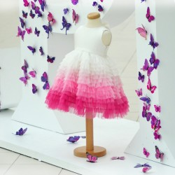 CPM pink flowergirl dress