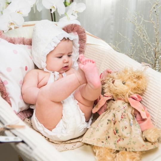 Eveline Baby Girl Bonnet