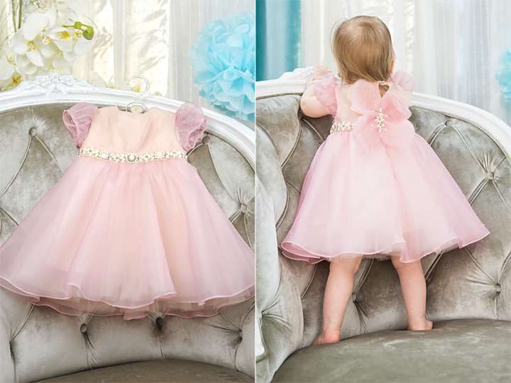 Mariposa girl organza dress