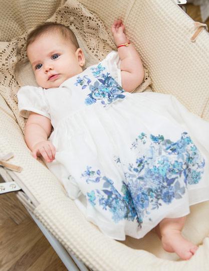 Alessia girl flowers dress