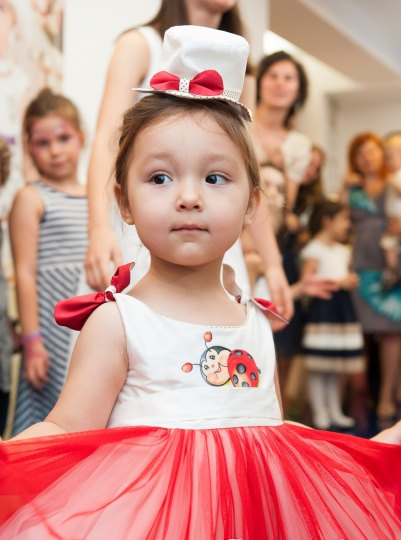 """Aquarela"" -christening dress ""Ladybug"""