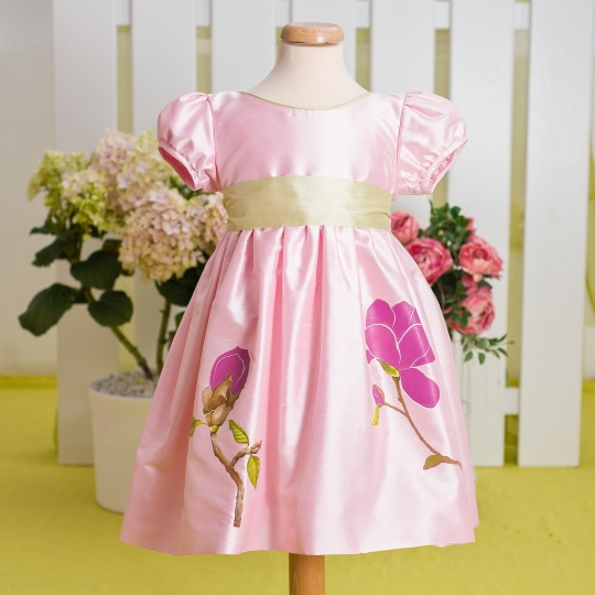 """Aquarela"" - special occasion dress ""Magnolia"""